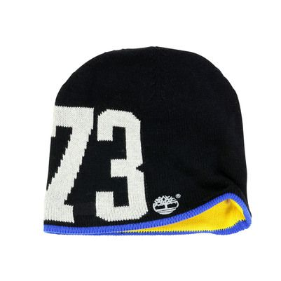 Timberland - Reversible black knit hat - 20033