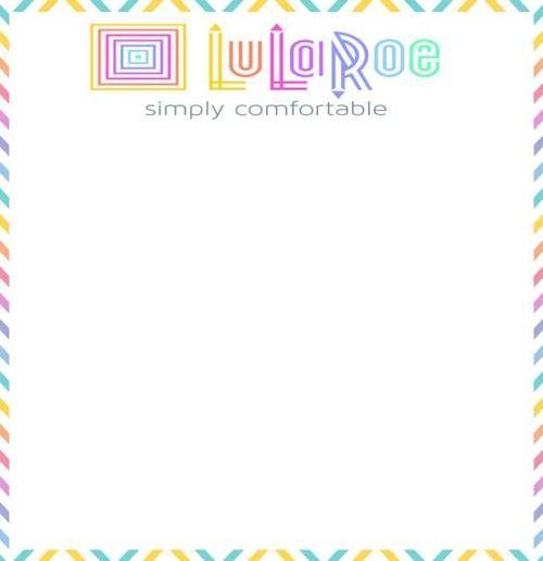 lularoe flyer template