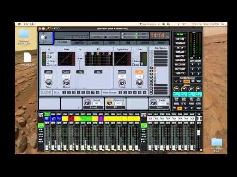 Behringer X32 - X32 Edit - Subgroup Setup - YouTube