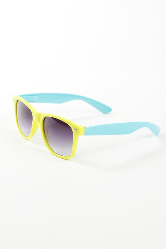 Wayfarer 1247 Yellow & Blue
