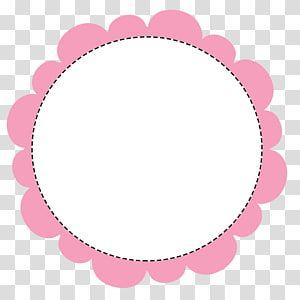 White And Pink Circle Illustration Circle Polaroid Frame Transparent Background Png Clipart Frame Logo Logo Online Shop Frame Border Design