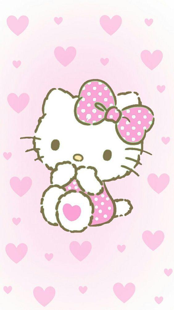 Hello Kitty Imut Hello Kitty Seni Kaligrafi Seni