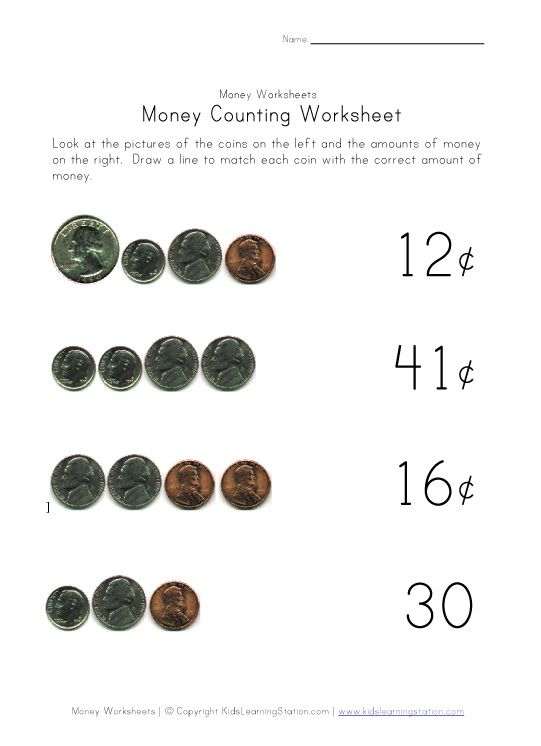Worksheets, Money worksheets and Counting money on Pinterest