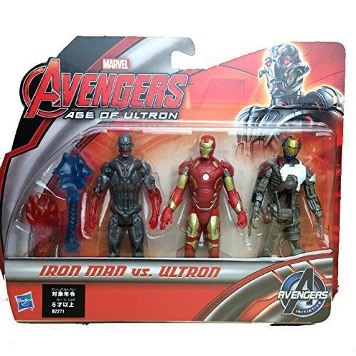 3 75 Inches Urutoron Defense Iron Man Vs Urutoron 3 Pack You Can Get More Details By Clicking On The Image It Is Amazon Af Man Vs Superhero Toys Iron Man