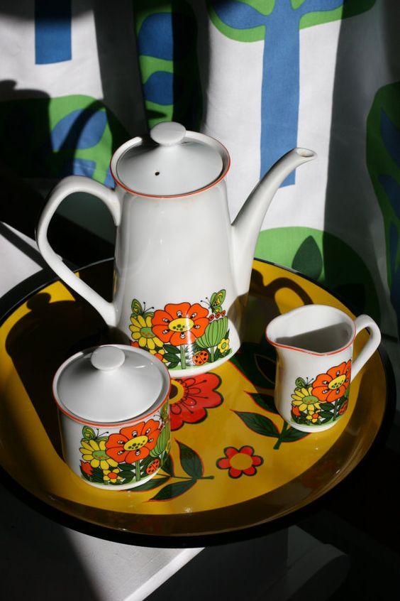 70's Tea Set <3