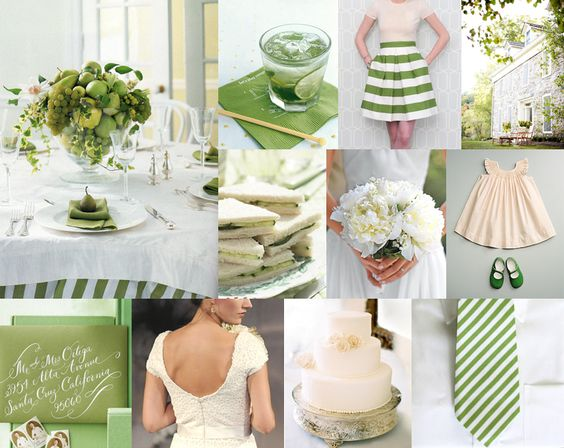 Green wedding!
