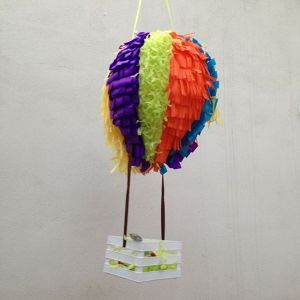 hot air balloon pinata tutorial home howtodoeverything diy