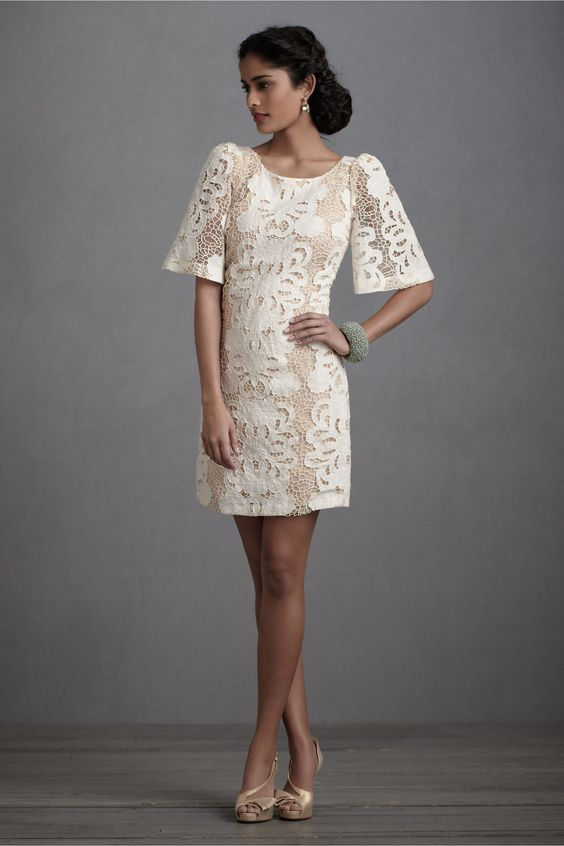 Persephone Shift in SHOP Bridesmaids & Partygoers Bridesmaid & Party Dresses at BHLDN