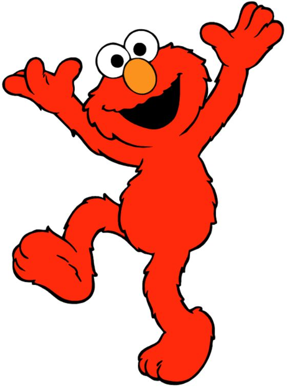 Cartoon Characters Named Zoe : Elmo sesame street streets and clipart images on