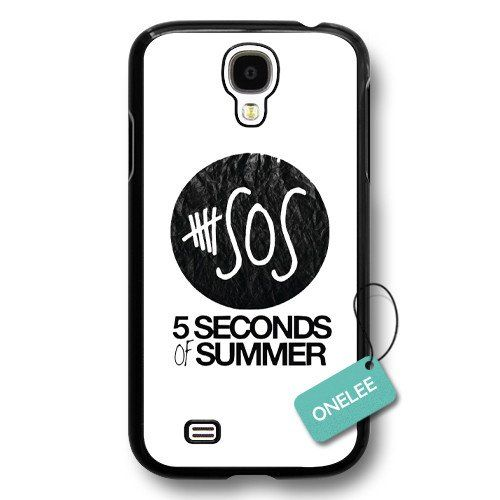 Onelee(TM) - Personalized Popular Band 5 Seconds Of Summer 5sos Logo Black Plastic Samsung Galaxy S4 Case & Cover - Black 7:Amazon:Cell Phones & Accessories