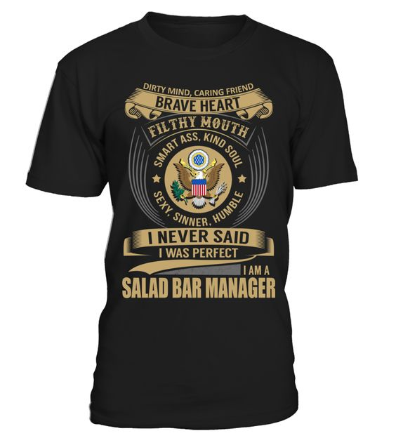 Salad Bar Manager Job Shirts Pinterest Bar, Salad bar and Salads - bar manager