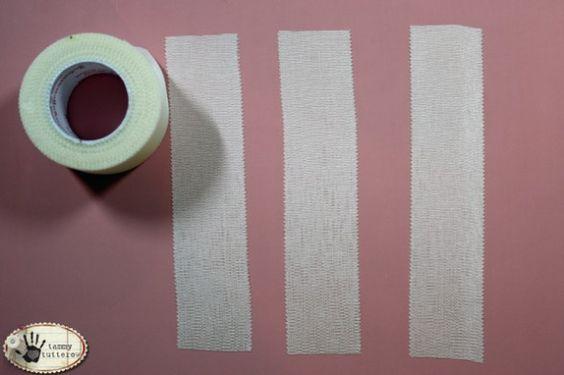 Dyed Adhesive Ribbon (Fabric Bandage Tape)