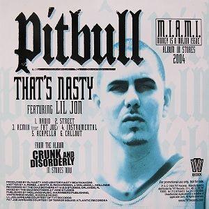 Pitbull, Lil Jon, Fat Joe – That's Nasty (single cover art)