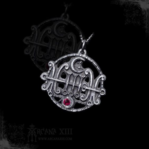 Sigil of Sallos Goetia w/ Chain