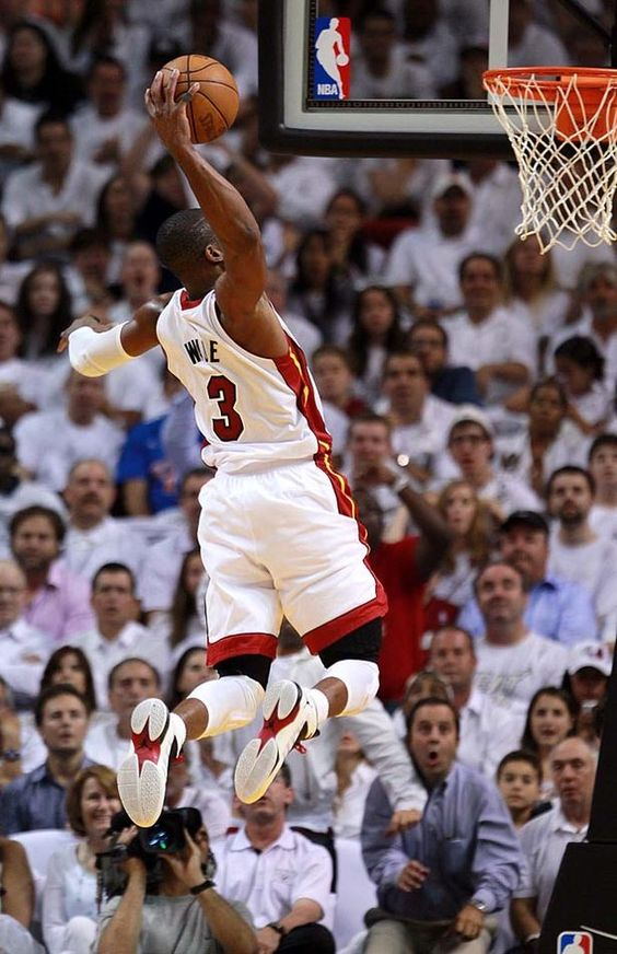 Dwayne Wade. The only Heat I ever liked.
