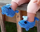 OMG!!! are so cute these Whale Booties