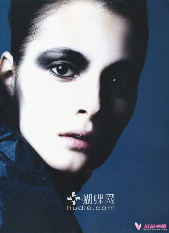 Beauty editorial featuring model Suzie Bird For Vogue Nippon, August 2009