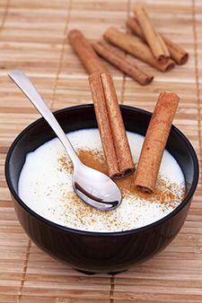 Semoule au lait moelleuse au caramel