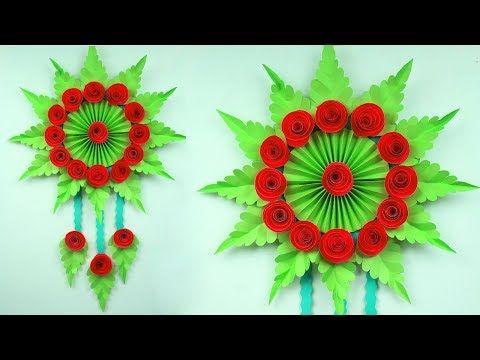 Paper Flower Wall Hanging Paper Flower Decoration Hanging Diy