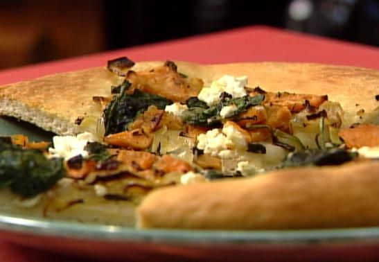 Sweet Potato, Spinach and Feta Cheese Pizza - Time Warner Cable News ...