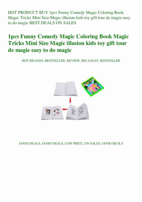 Coloring Book Magic Trick Unique Buy 1pcs Funny Edy Magic Coloring Book Magic Tricks Mini Coloring Books Magic Tricks Magic Illusions