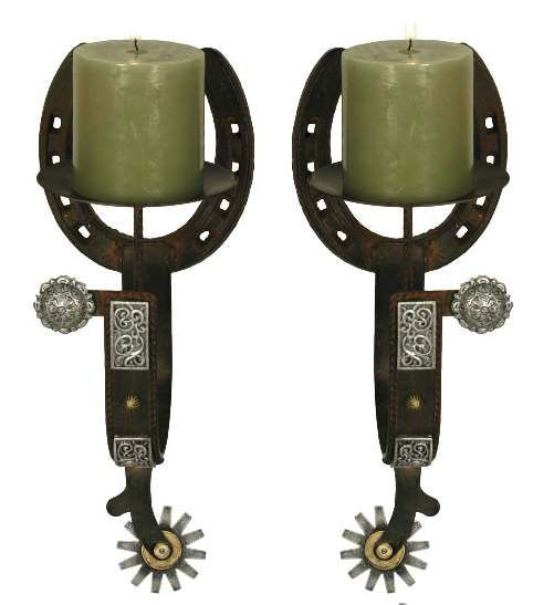 Sconces, Candle Holders And Western Homes On Pinterest