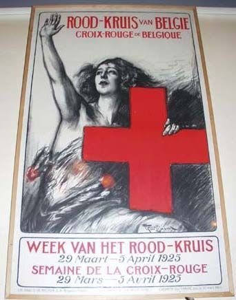 Online veilinghuis Catawiki: Fernand Toussaint - Rood-Kruis van België