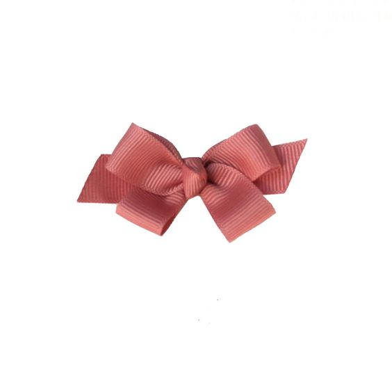 emma* accessories antique pink ribbon hairclip