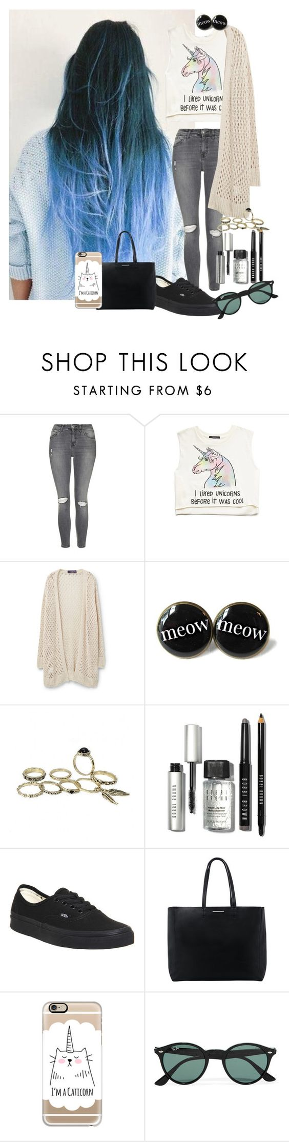 •spring day• by penguinx14 on Polyvore featuring Mode, Violeta by Mango, Forever 21, Topshop, Vans, MANGO, Casetify, Ray-Ban and Bobbi Brown Cosmetics