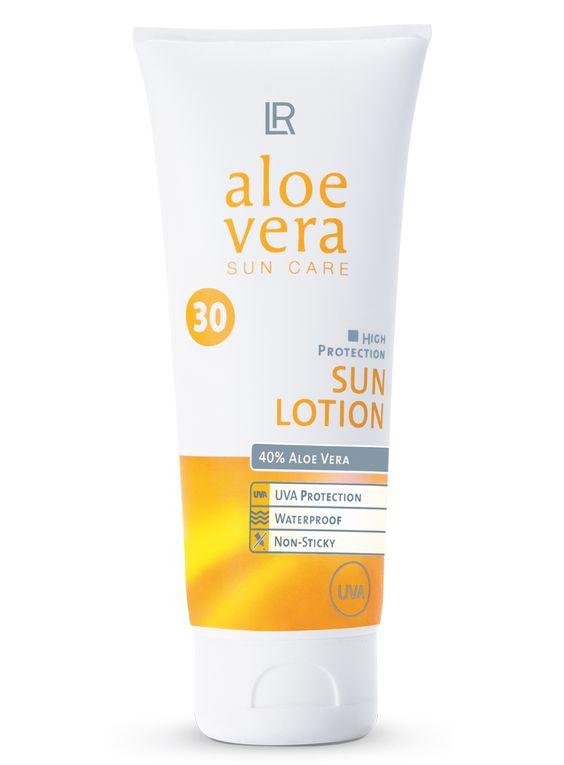 Hochwirksamer UVA-/ UVB-Schutz mit der Pflegekraft der Aloe Vera Für helle Haut, die mittleren UV-Schutz benötigt.