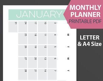 calendar monthly – Etsy DE