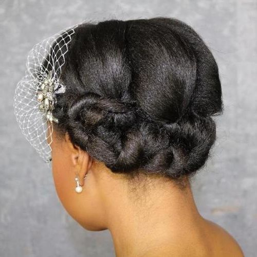 28 Black Wedding Hairstyles For Elegant Appearance Natural