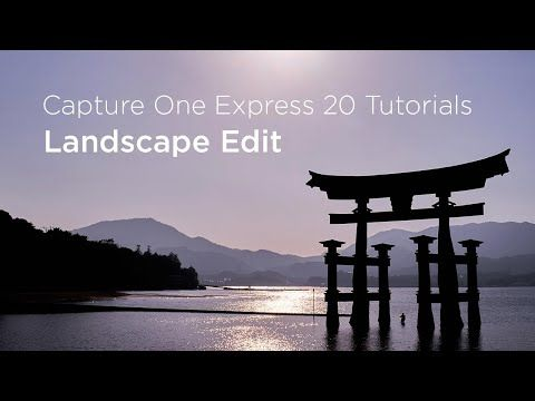 Learn How To Quickly Edit A Landscape Photo With Ease In Capture One Express Correct Exposure Hightlights And Shadows As Landscape Landscape Photos Capture