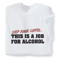 Step Aside Coffee T Shirt