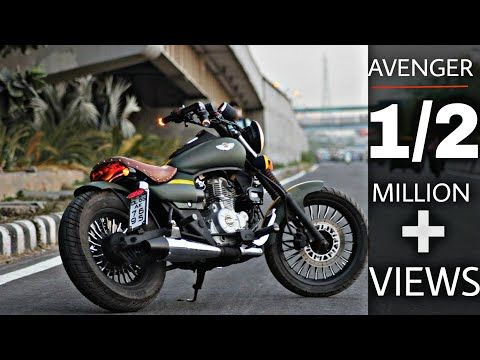 Avenger Modified Into Harley Devidson Bikes Modifications
