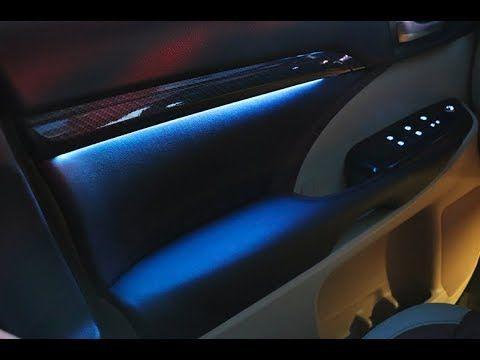 2018 Toyota Highlander Interior Led Light Set Retrofit Youtube
