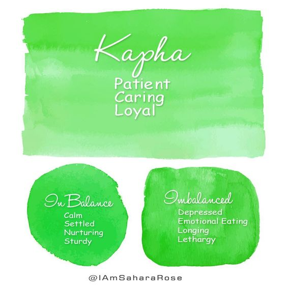"""Discover your mind-body type on my free quiz over at the link in bio!🌟 ⠀ Kapha- the Earthy Dosha. I call Kapha """"grandmother energy."""" You…"""