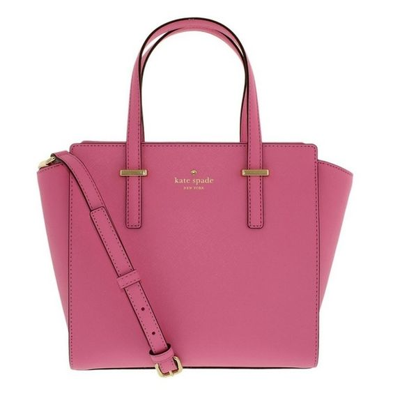 Kate Spade New York Cedar Street Small Hayden Rouge Pink Handbag