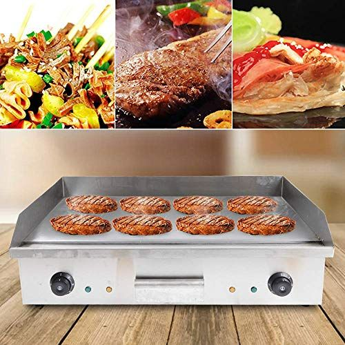 Amazing Offer On Zhfeisy Electric Griddle 4400w Non Stick Electric Griddles Commercial Home Kitchen Bbq Grill Teppanyaki Hot Plate Drip Tray Temperature Co In 2020 Restaurant Kitchen Electric Griddle Hot Plate