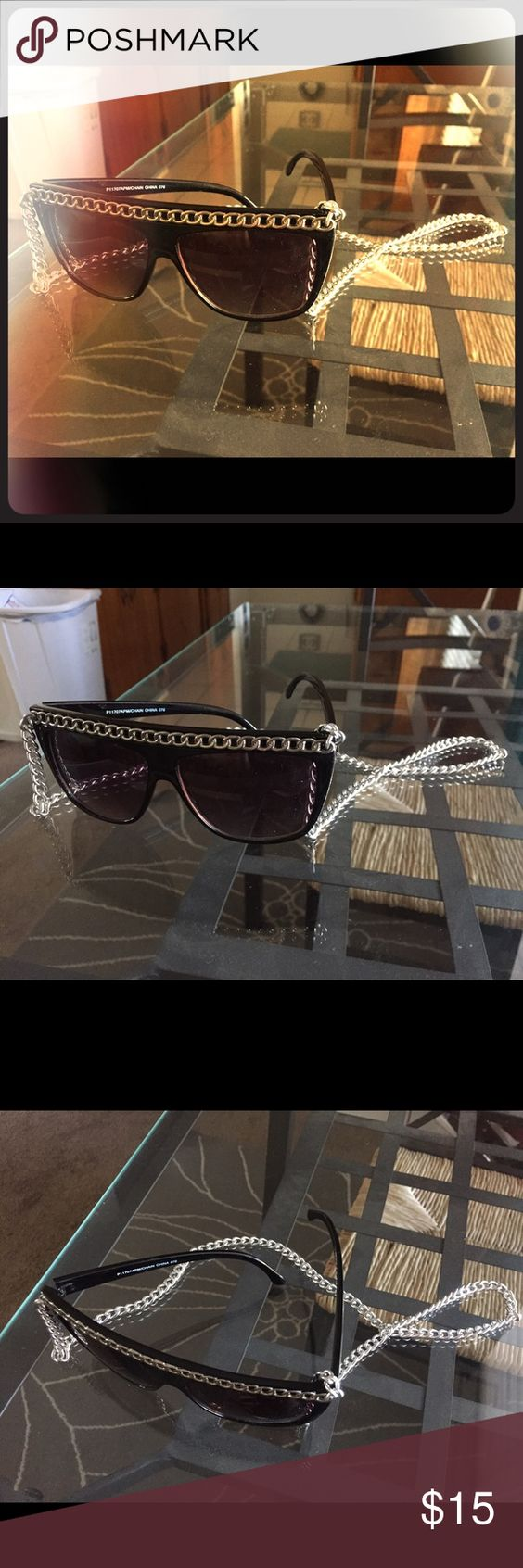 Chain sunglasses  Chain sunglasses. Add a little bit of rocker chic to any outfit! As seen on Snooki Accessories Glasses