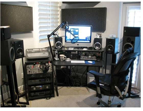 Awesome How To Make Your Own Music Studio Home Music Studio Pinterest Largest Home Design Picture Inspirations Pitcheantrous