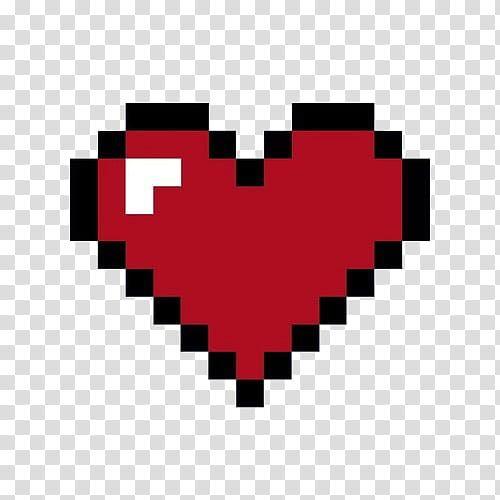 Pastel Pixels Iv Red Heart Art Transparent Background Png Clipart Red Hearts Art Heart Art Free Clip Art