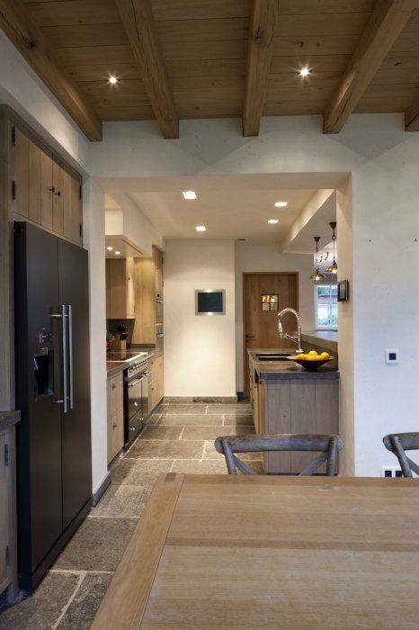 Bourgondisch Kruis - Realisations - Kitchen mooie keuken vloer ...