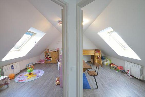 Meuble Vintage Chambre Bebe :  et combles aménagement comble chambre combles chambre enfant chambre