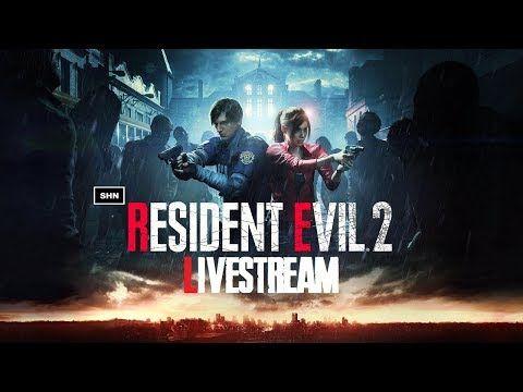 Resident Evil 2 Remake Leon B Playthrough Livestream No