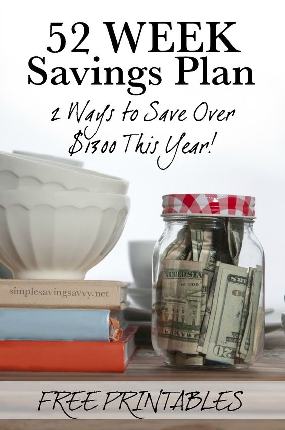 I always say that the key to saving money is having a plan. Here's a 52 Week Savings Plan that will help you save over $1300 this year without much effort on your part – other than self-discipline.