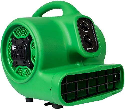 Amazing Offer On Xpower P 430at Medium Sized Air Mover Carpet Dryer Floor Blower Utility Fan Features Timer Built In Power Outlets Green 1 Online In 2020 Blowers Blower Fans Power Outlet