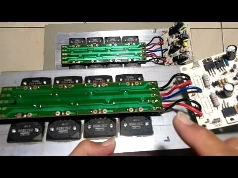 Tutorial Cara Membuat Monoblock Driver Power Audio Amplifier Bagian 2 Dari 2 Youtube Audio Teknologi Youtube