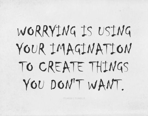 Use Your Imagination in a Positive Way