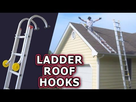 Ladder Roof Hooks Unboxing Review Qualcraft Acro Hug Flight Climb Safely Repair Asphalt Shingles Youtube Roof Roof Ladder House Roof
